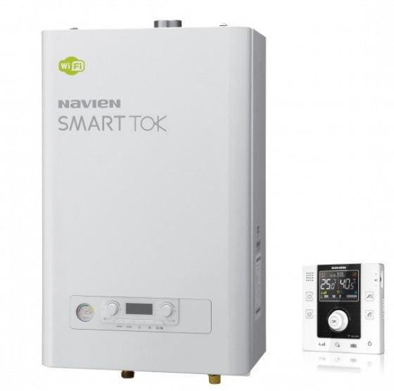 Настенный газовый двухконтурный котел Navien Smart Tok Купить в Челябинске